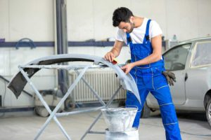 become an Auto Body and Glass Repairer working
