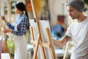 free art career test for students and adults