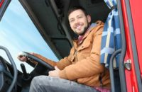 become a truck driver